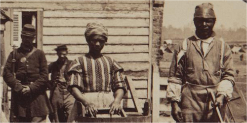 Amerykańscy, czarni niewolnicy.