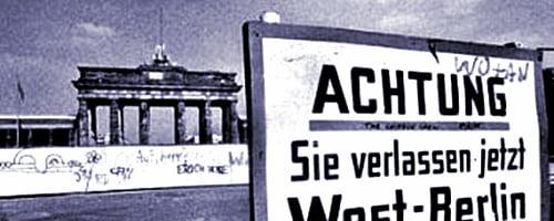 Mur Berliński w następstwie II Wojny Światowej