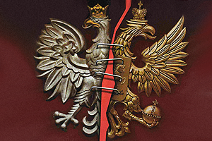 """""""Polska-Rosja"""" orły z okładki Rosyjskiego Newsweek"""