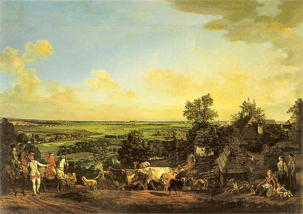 Łąki Wilanowskie (Canaletto)