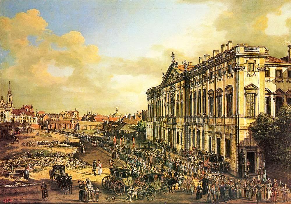 Pałac Rzeczpospolitaj przy placu Krasińskich