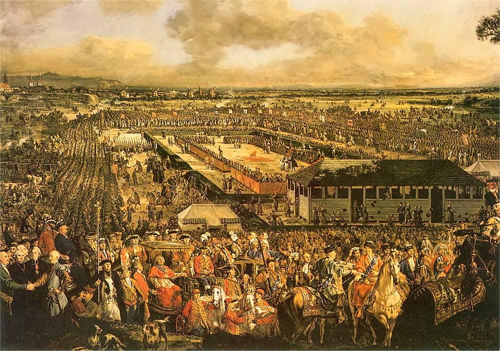 Pole elekcyjne na Woli (Canaletto)