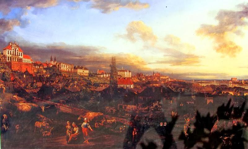 Widok Warszawy z  Rzeki (Canaletto)